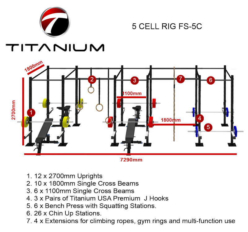 5 CELL RIG FS-5C