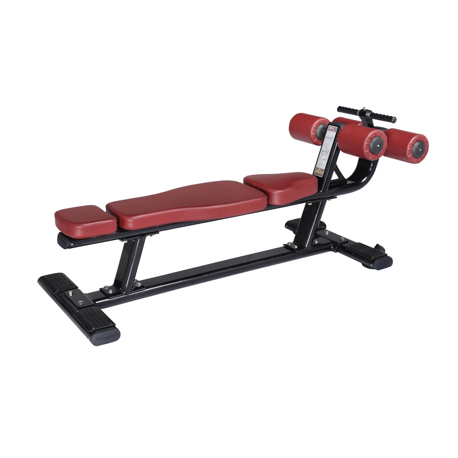 Titanium usa crunch bench commercial fitness equipment Abs bench