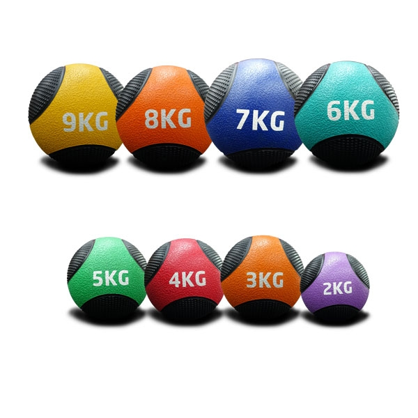 2KG TO 9KG RUBBER MEDICINE BALLS PACK