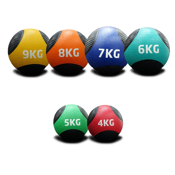 4KG TO 9KG RUBBER MEDICINE BALLS PACK
