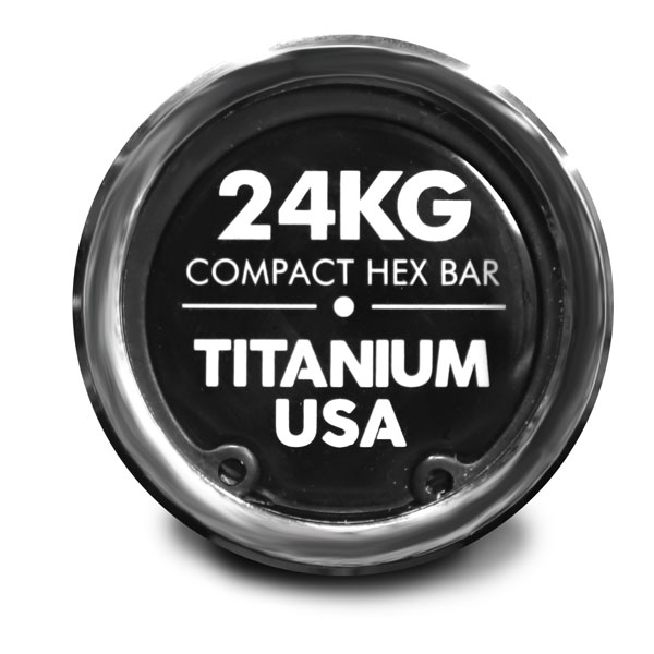 TITANIUM USA COMPACT HEX TRAP BAR