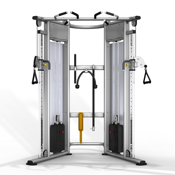 TITANIUM USA PLATINUM SERIES COMMERCIAL FUNCTIONAL TRAINER - SILVER FRAME